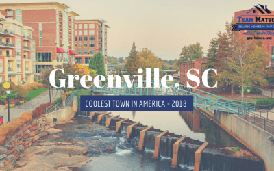 Greenville, SC – Coolest Town in America 2018