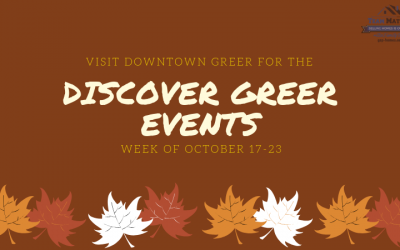 Discover Downtown Greer Event: October 17-23