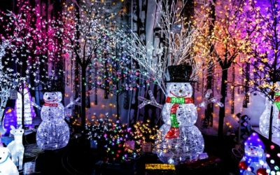 Best Christmas Light Displays in Spartanburg and Greenville, Upstate, SC