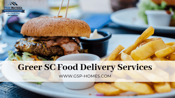 Greer SC Food Delivery