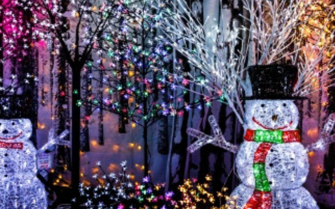 2019 Christmas Light Displays in Spartanburg, Greenville SC
