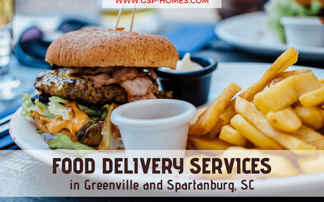 Food Delivery in Greenville and Spartanburg, SC